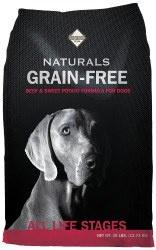 Diamond Naturals Grain Free Beef and Sweet Potato Formula Dry Dog Food 28lb