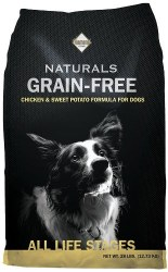 Diamond Naturals Grain Free Chicken and Sweet Potato Formula Dry Dog Food 28lb