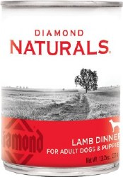 Diamond Naturals Lamb Dinner Adult and Puppy Canned Dog Food 13.2oz