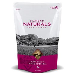 Diamond Naturals Puppy Biscuits with Chicken Meal Dog Treats 8oz