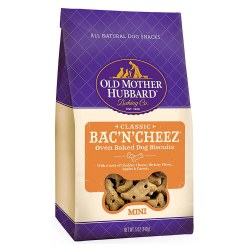 Old Mother Hubbard Classic Bac'N'Cheez Mini Biscuits Baked Dog Treats 5oz