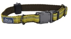 Small Reflective Adjustable Collar 5/8 Inch x 10-14 Inch GoldenRod