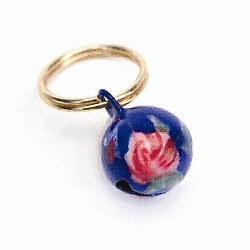 Round Pink Rose Assorted Designs And Colors Bells
