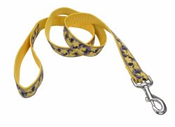 Ribbon Nylon Yellow Buttercup 6 Inch x 5/8 Inch Wide Leash