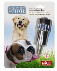 Lixit Faucet Waterer Stainless