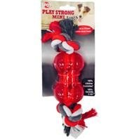 Play Strong Tug Bone With Rope Small