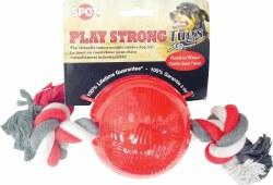 Play Strong Tug Ball With Rope Medium