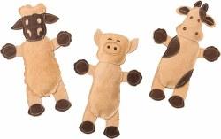 Dura Fused Leather Barnyard Animals Assorted 14 Inch