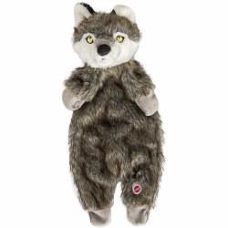 Furzz Wolf Plush 13.5 In Brown