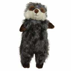 Furzz Racoon Plush 13.5In Grey