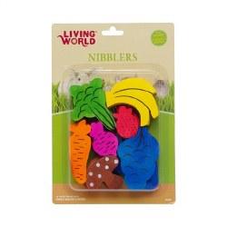 LW Wood Nibblers Fruit/Veggie