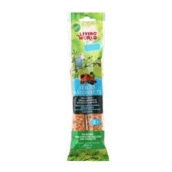 Living World Budgies Fruit Treat Sticks 2oz 2 Pack