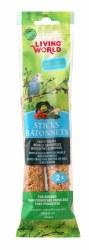 Living World Budgies Veggie Treat Sticks 2oz 2 Pack