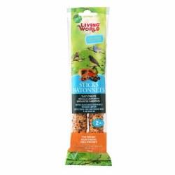 Living World Finch Fruit Sticks 2oz 2 Pack