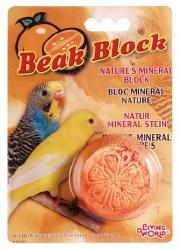 Mineral Block Parakeet Orange