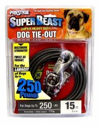 Prestige Super Beast 15ft Tieout Extra Large Upto 250lbs