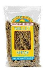 Sun Seed Small Bird Millet Spray Treats 4oz