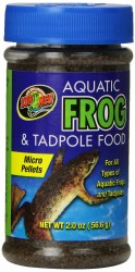 Aquatic Frog And Tadpole Food 2oz