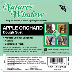 Apple Orchard Dough Suet 11.25oz