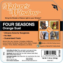 Four Season Orange Suet 11.25oz