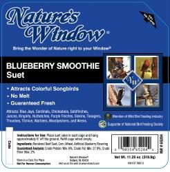 Blueberry Smoothie Suet 11.25oz