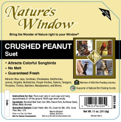 Crushed Peanut Suet 11oz