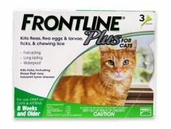 Frontline Plus Cat 3 Month