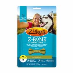 Zuke's Z-Bone with Apples Mini 18 Count Dental Dog Treats