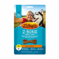 Zuke's Z-Bone with Carrots Mini 18 Count Dental Dog Treats
