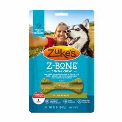 Zuke's Z-Bone with Apples Regular 8 Count  Dental Dog Treats