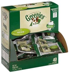 Greenies Teenie 5-15lb 40pack
