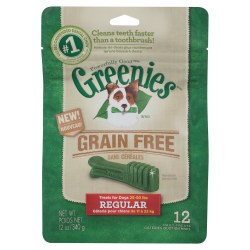 Greenie GrainFree Regular12oz