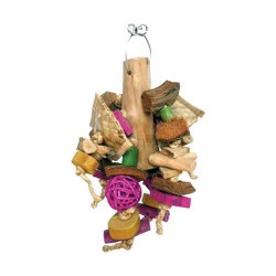 Java Wood Chunky Mnster Toy SM