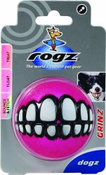 Grinz 2.4In Dog Treat Ball Med