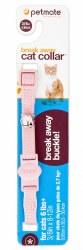 Adjustable 8-12 Inch Breakway Collar With Bell Pink