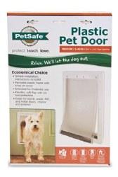 PetSafe Plastic Pet Door For Medium Pets Upto 40lbs