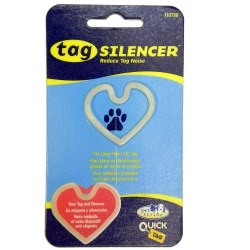 Large Heart Tag Silencer Glow