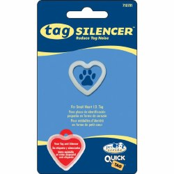 Small Heart Tag Silencer Glow