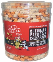 Sunshine Mills Pupcorn Cheese Flavor Dog Treats 28oz
