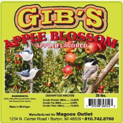 Gibs Apple Blossom Wild Bird Seed 33lb