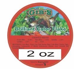 Gibs Brilliant Color Flake 2oz