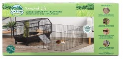 Oxbow Lrg Habitat w/Play Yard