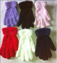 Fuzzy Magic Glove Assorted Colors