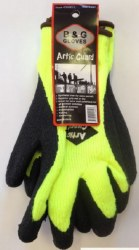 Artic Guard Yellow And Black Thermal Gloves