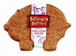 Natures Animals Barnyard Buddies Bacon & Cheese Dog Biscuit Single