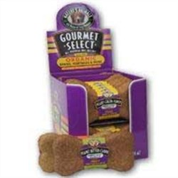 Natures Animals Gourmet Organic Grain and Honey Dog Biscuit Single 4.5 Inch