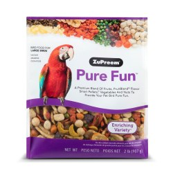 ZuPreem Pure Fun Enriching Variety Large Bird Food 2lb bag