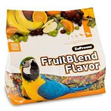 ZuPreem FruitBlend with Natural Fruit Flavors Large Bird Food 12lbs