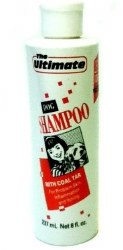 Dog Shampoo w/Coal Tar 8oz