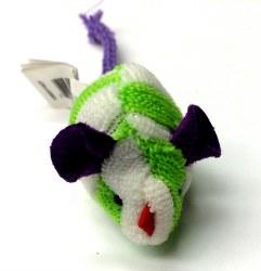 Stripey Mouse Catnip Toy